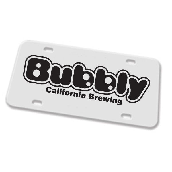 High Impact Custom Ad Plate Promotional product sold by MicrobrewMarketing.com