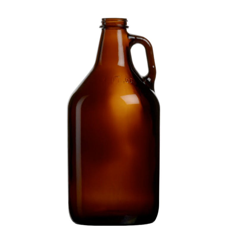 Amber Growler 64oz Growler sold by Zenan USA