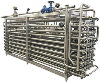 UHT TECHNOLOGY for milk and dairy products Pasteurizer sold by TPS Process Equipment