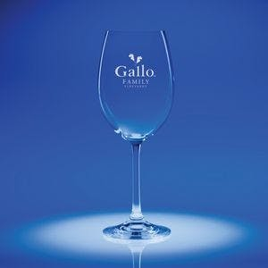 15.25 Oz. Options White Wine Glasses Wine glass sold by Ink Splash Promos, LLC