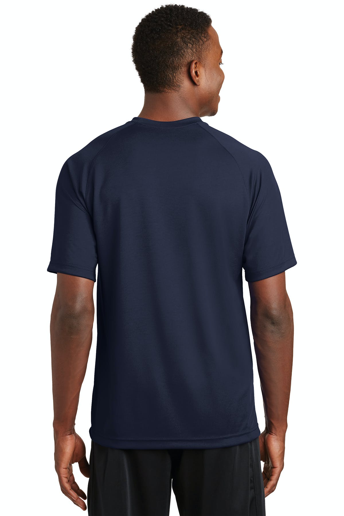 Sport-Tek® Dry Zone® Short Sleeve Raglan T-Shirt - sold by PRINT CITY GRAPHICS, INC