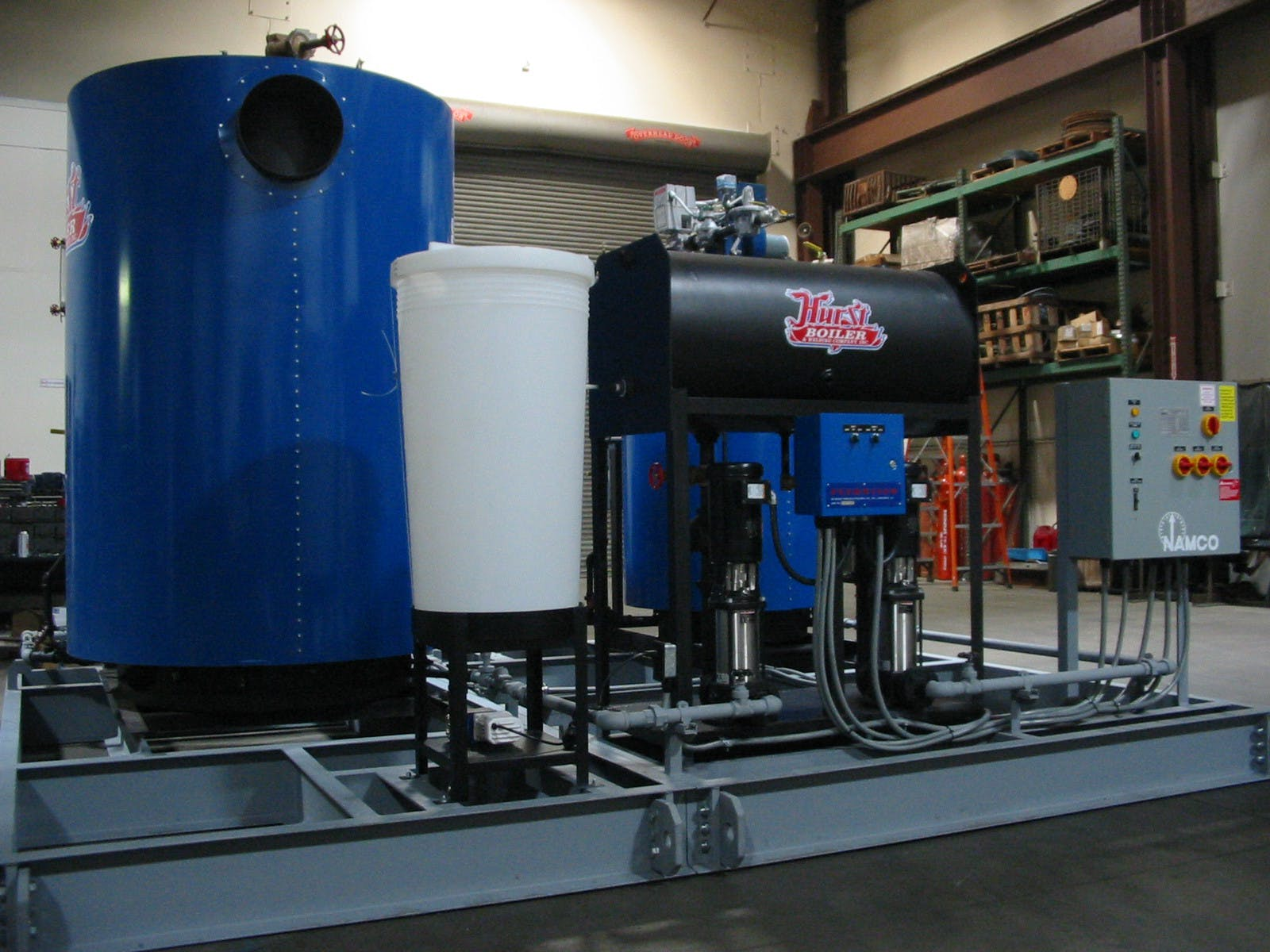 STEAM BOILER SKID PACKAGE Steam boiler sold by Neal and Associates
