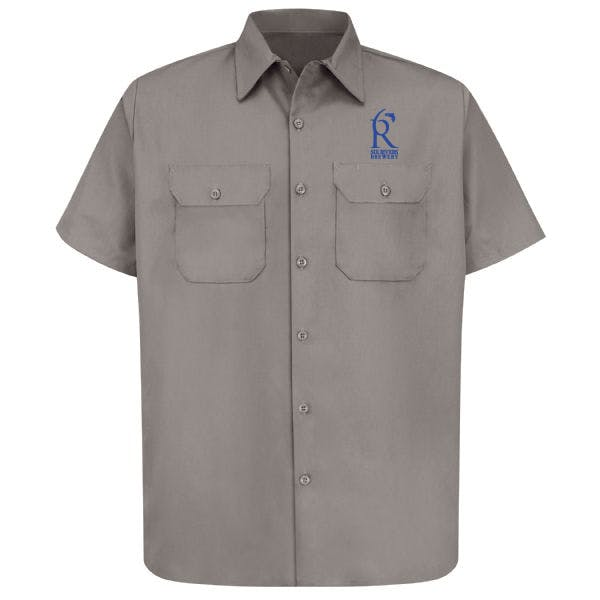 Utility Uniform Shirt Promotional shirt sold by MicrobrewMarketing.com