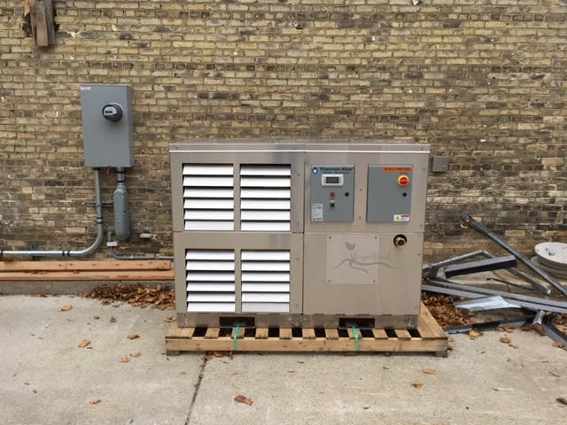 TSCS-P2032SAC-P0015-030 Glycol chiller sold by Therma-Stor LLC