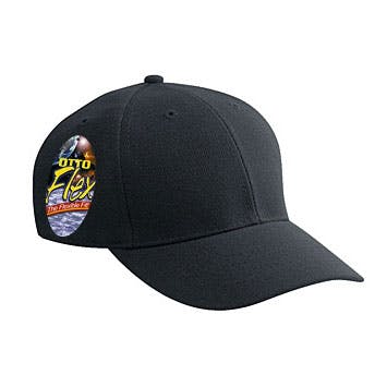 OTTO FLEX stretchable deluxe wool blend low profile pro style caps Promotional cap sold by Otto International