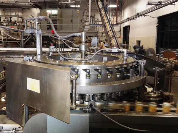 Used CROWN 40 Valve Can Filler For Sale Can filler sold by SMB Machinery Systems