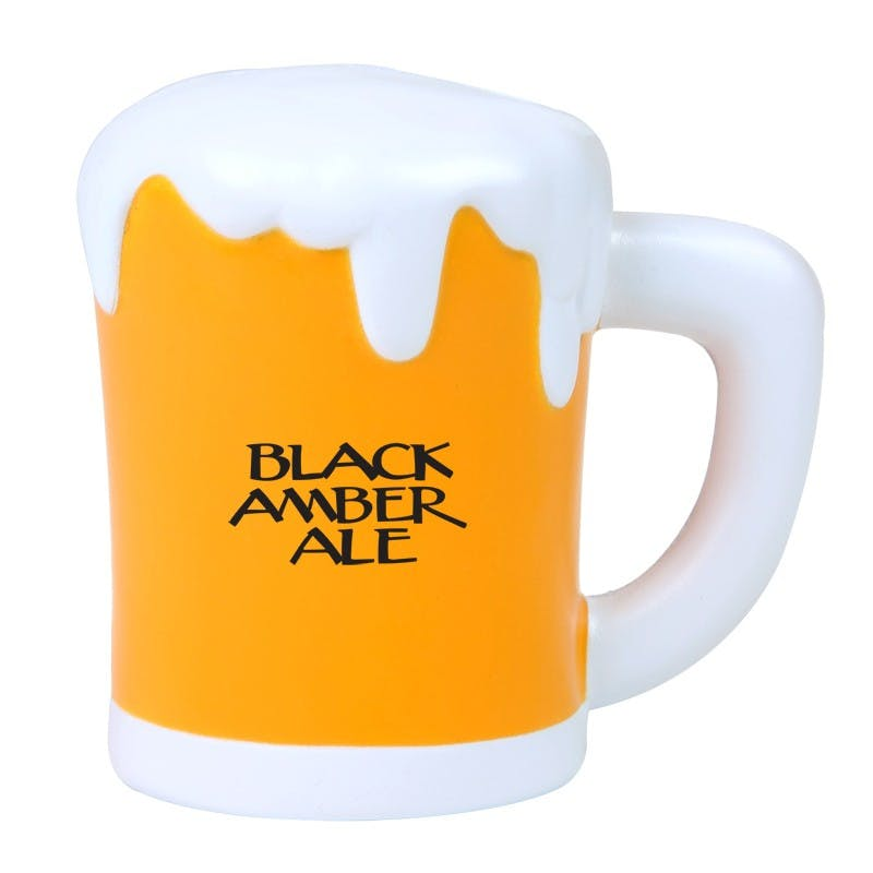 Pint of Beer Stress Reliever Promotional product sold by MicrobrewMarketing.com