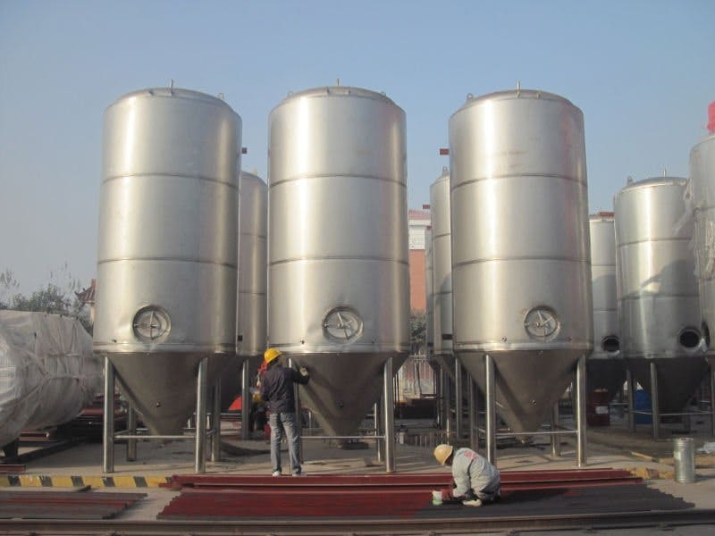 60 BBL Fermenters Fermenter sold by Asia Pacific Packaging