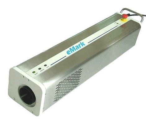 eMark CO2 Laser coder sold by MSM Packaging Solutions
