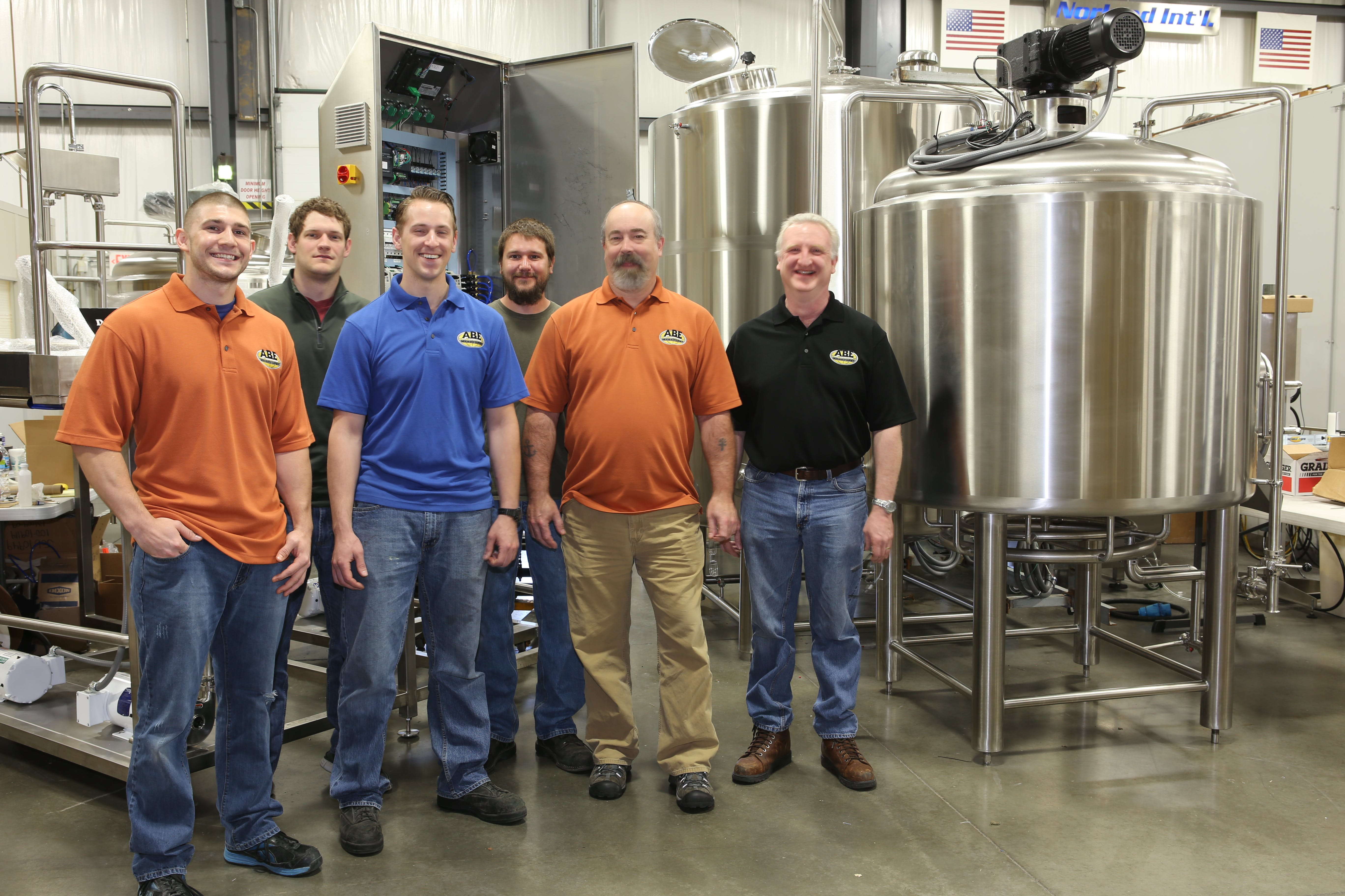 Members of our Technical Staff Brewhouse sold by American Beer Equipment