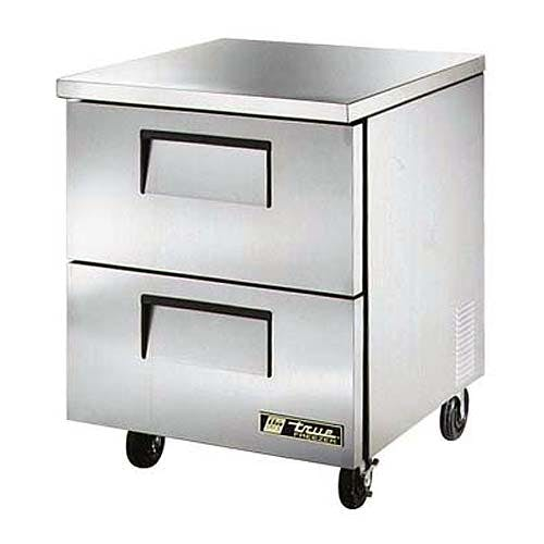 "True ( TUC-27F-D-2 ) - 28"" Undercounter Freezer w/ Drawers Commercial freezer sold by Food Service Warehouse"