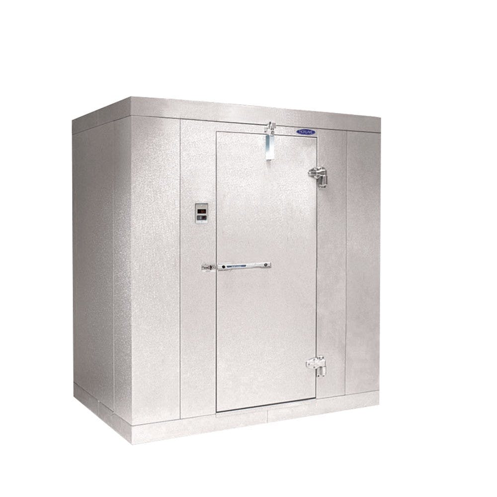 "Nor-Lake KODB46-C - 4' x 6' x 6' 7"" Walk-In Cooler - Outdoor - With Floor Walk in cooler sold by Elite Restaurant Equipment"
