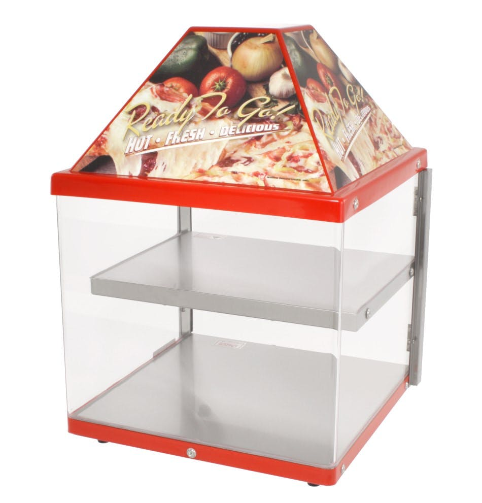 Wisco 680-1 Countertop Pizza Warmer (2 shelf) Pizza warmer sold by pizzaovens.com