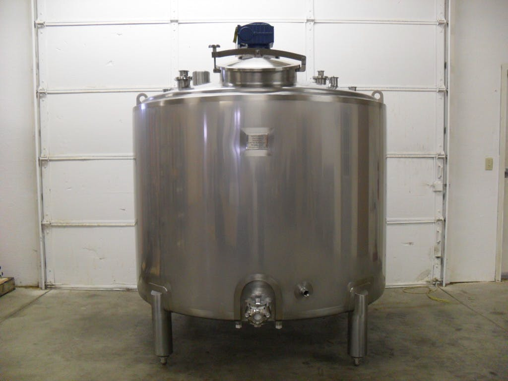 500 Gallon Batch Pasteurizer Pasteurizer sold by ANCO Equipment, LLC