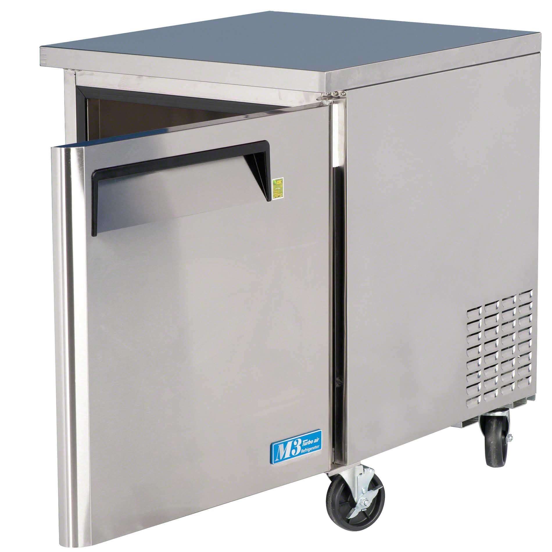 "Turbo Air - MUR-28 28"" Undercounter Refrigerator – M3 Series Commercial refrigerator sold by Food Service Warehouse"