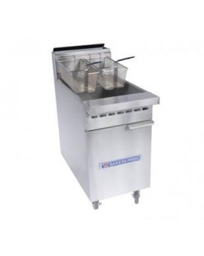 BAKERS PRIDE BPF-6575-N 65-75 LBS. GAS FLOOR FRYER - 152,000 BTU Commercial fryer sold by NJ Restaurant Equipment