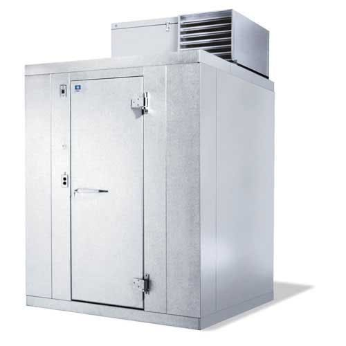 "Kolpak ( P7-054-CT ) - 4'10-1/2"" Prefab Cooler (with floor) - Polar-Pak Commercial refrigerator sold by Food Service Warehouse"