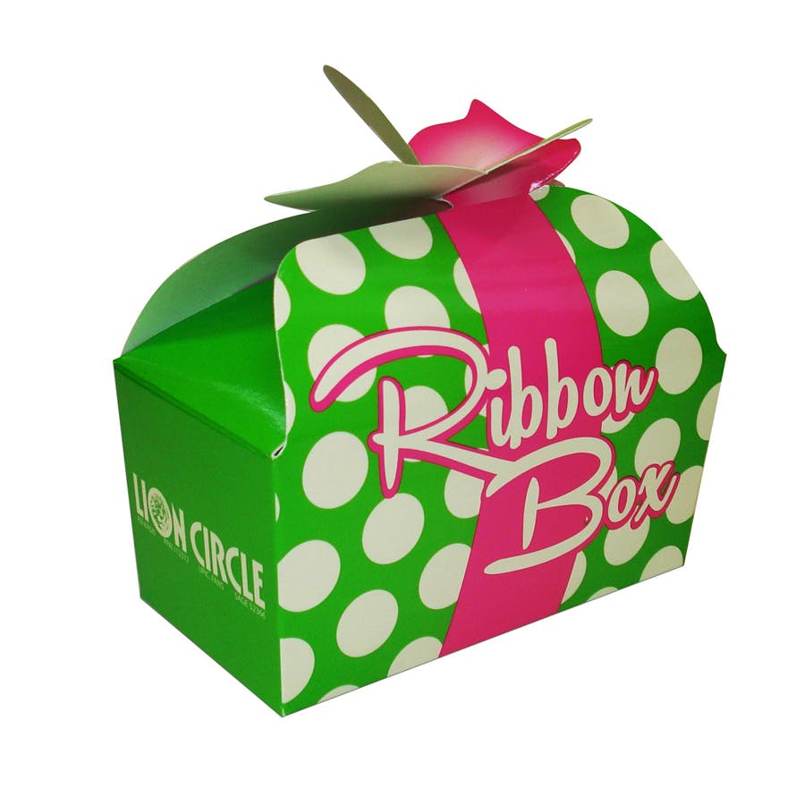 Ribbon Donut Box (Item # CHFNO-JJBSV) Custom packaging sold by InkEasy