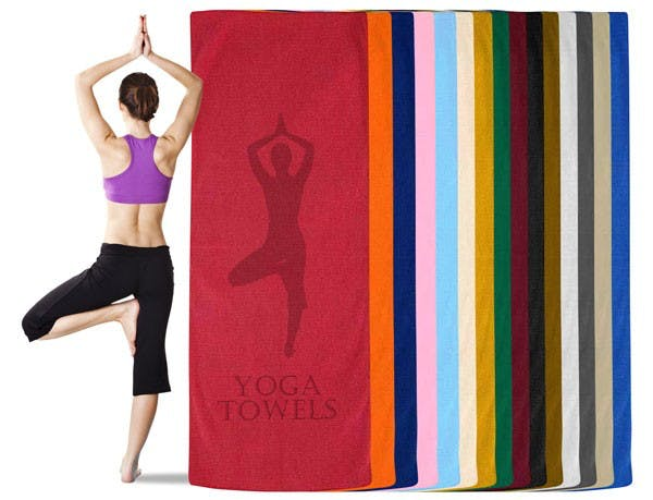 Yoga Mat Towel (Item # MIMMU-HFWKF) Towel sold by InkEasy