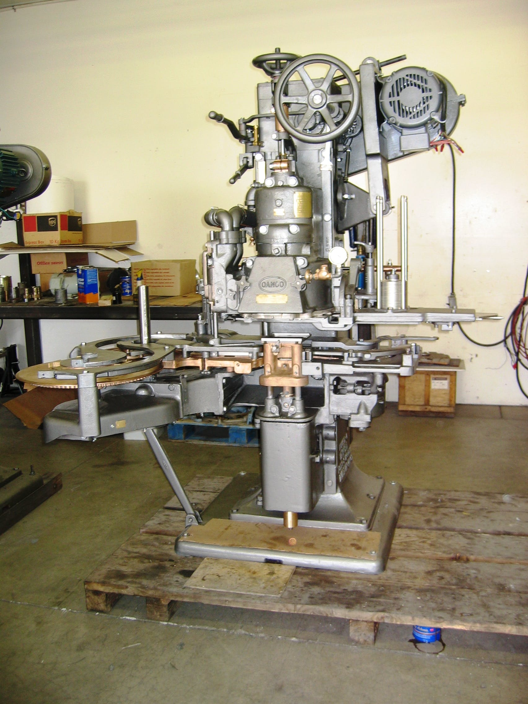 Canco 08 Can Seaming Machine Can sealer sold by Pegasus Food Machinery