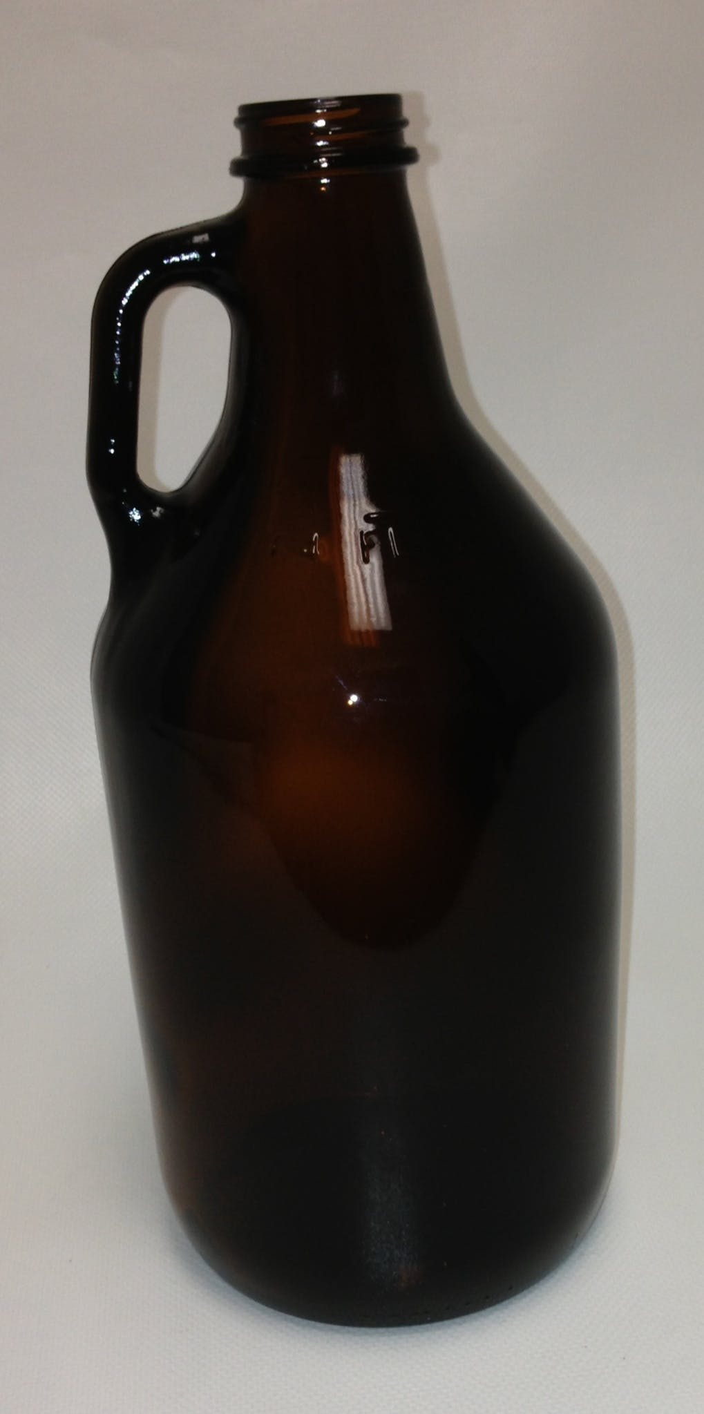 Half Gallon Amber Growler 64oz Packaging Support Group