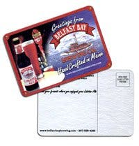 Full Color Post Card Coasters (36 pt.) Drink coaster sold by MicrobrewMarketing.com