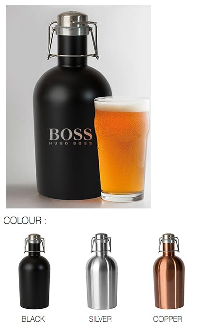 STAINLESS STEEL GROWLER 2 GO BEER LOVER'S FAVOURITE Growler sold by Luscan Group