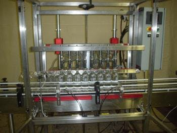 Fully Automatic Overflow Fillers Bottle filler sold by MSM Packaging Solutions