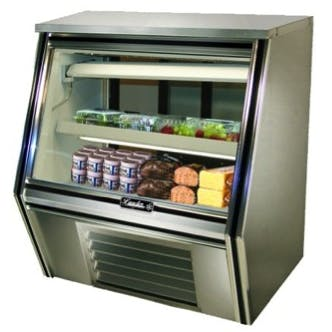 "Leader CDL36 - 36"" Single Duty Refrigerated Deli Display Case Food display case sold by Elite Restaurant Equipment"