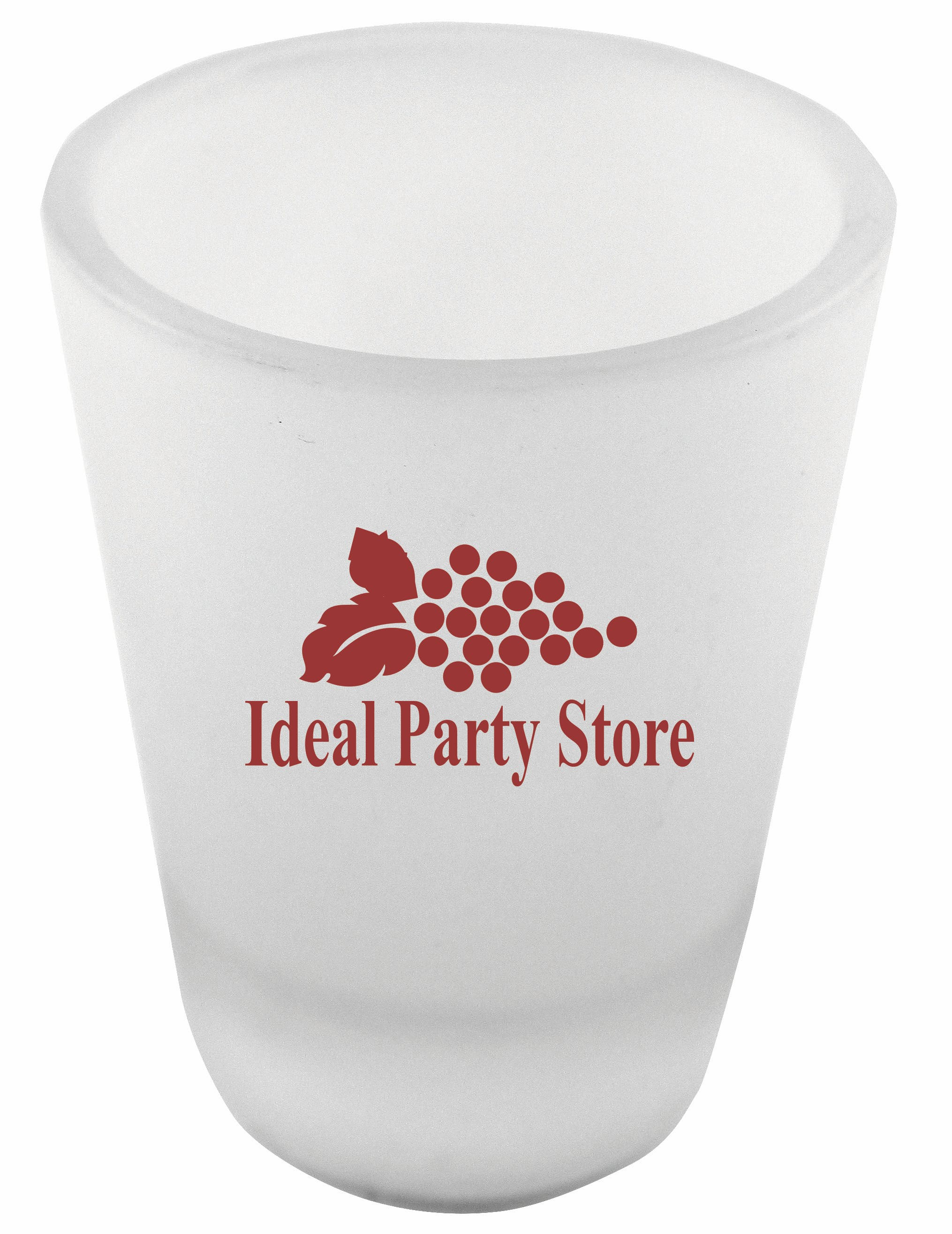 1.5 oz. Frosted Shot Glass Shot glass sold by Prestige Glassware
