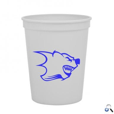 SC16 - 16 oz Stadium Cup Plastic cup sold by ARTon Products