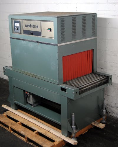 WELDOTRON MODEL 7603 SHRINK TUNNEL Shrink tunnel sold by Union Standard Equipment Co