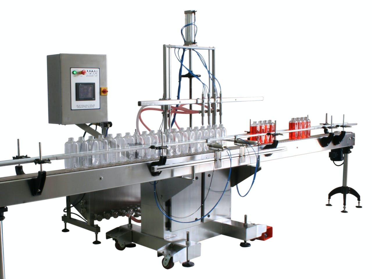 Acasi Trupump 8 positive displacement filler Bottle filler sold by ACASI Machinery