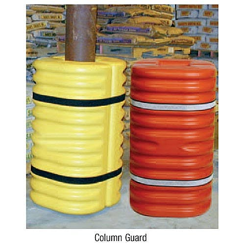 Column protectors Column protector sold by Freund Container & Supply