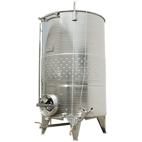 Custom Variable Capacity Conical Bottom Wine Tanks Wine tank sold by The Vintner Vault