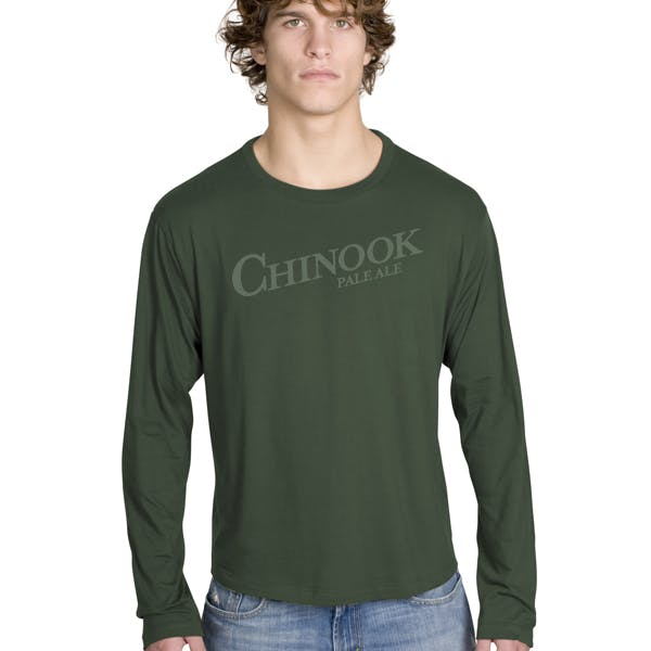 Adult Long Sleeve Perfect Weight Tee Promotional shirt sold by MicrobrewMarketing.com