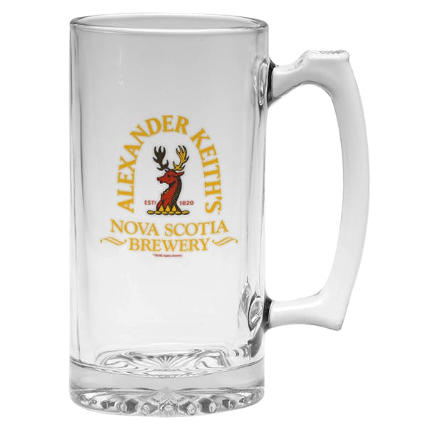 25 oz. Thumbprint Tankard Beer glass sold by MicrobrewMarketing.com
