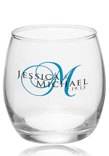 11.5 Oz. Clear Stemless Wine Glass (Item # UIGKP-JXGGU) Wine glass sold by InkEasy