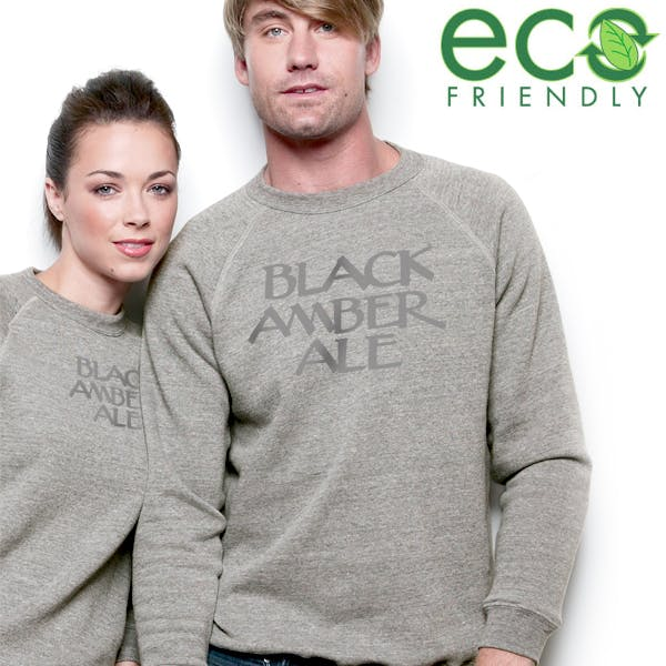 Alternative Long-Sleeve Basic Fleece Crew Promotional apparel sold by MicrobrewMarketing.com