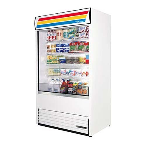 "True (TAC-48) - 48"" Vertical Air Curtain Merchandiser Merchandiser sold by Food Service Warehouse"