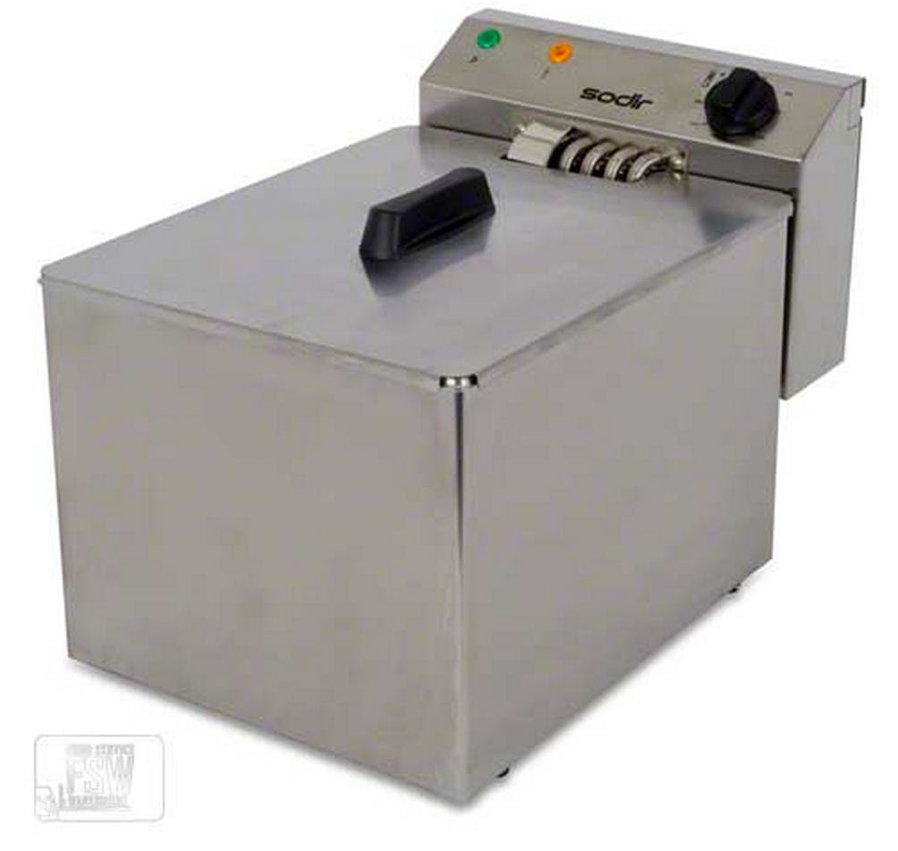 Equipex (RF8SP) - 15 Lb Electric Countertop Fryer Commercial fryer sold by Food Service Warehouse