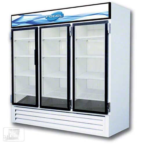 "Fogel - CR-65-US 78"" Glass Door Merchandiser Commercial refrigerator sold by Food Service Warehouse"