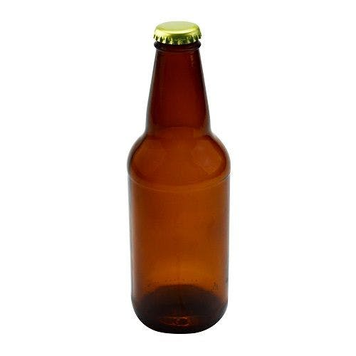 12 oz Amber Glass Heritage Twist-Top Beer Bottle (Optional Twist Off Cap) Beer bottle sold by Freund Container & Supply