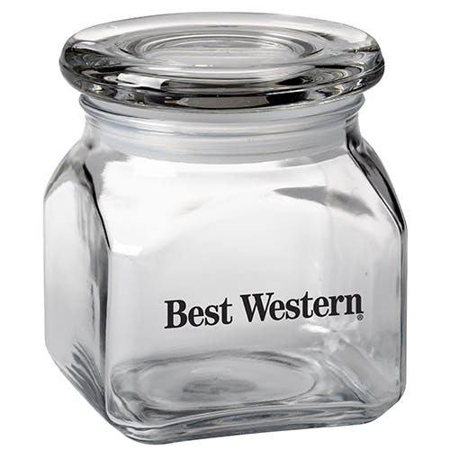10 Oz. Glass Jar (Item # OAMIN-IIFDI) Glass Jar sold by InkEasy
