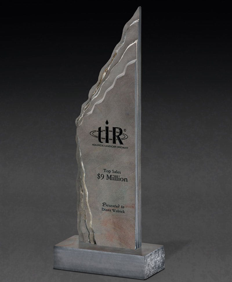 Solace Slate award Award sold by Distrimatics, USA