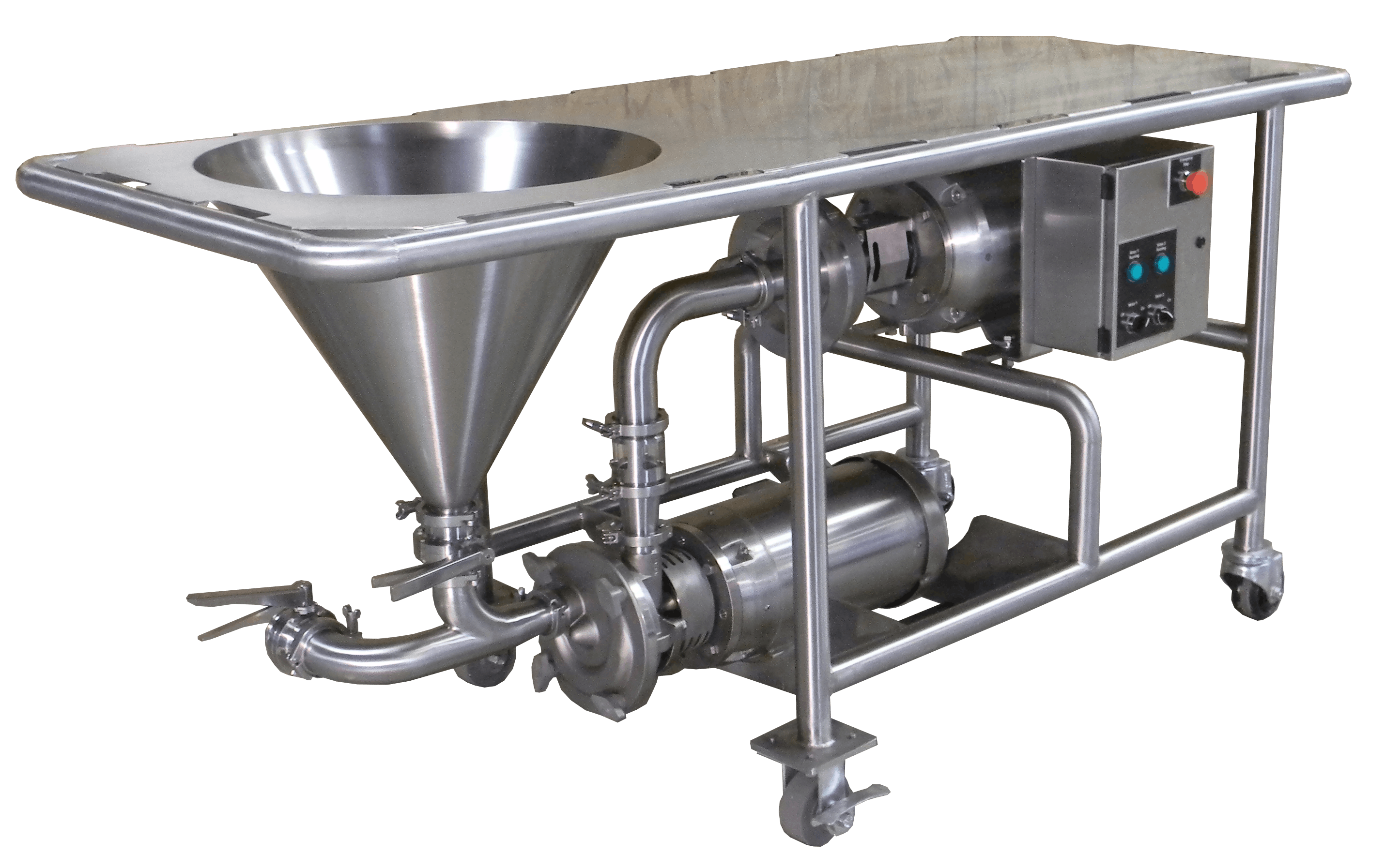 PM Powder Mixer  Blender sold by Ampco Pumps Co.