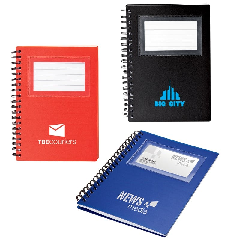 Business Card Holder Notepad (Item # QEJIR-ICVQO) Notepad sold by InkEasy