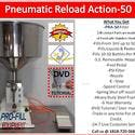 PRA-50 Mini Pneumatic Reload Action Single Head Piston Filler - Bottle filler sold by Pro Fill Equipment