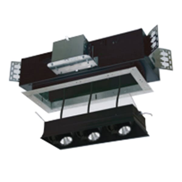 2 Light N Series Multiple Cluster LED Recessed Downlight - Trimless - sold by RelightDepot.com