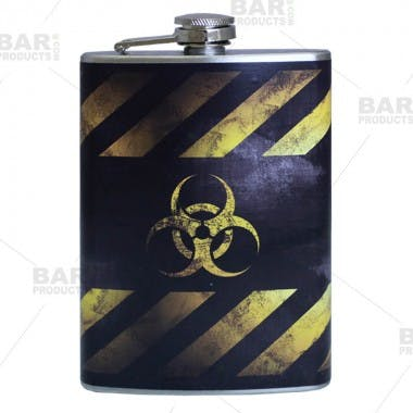 Full Color Flask Flask sold by Barproducts.com